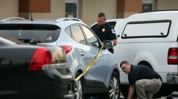 Police investigate the death of Cooper Harris