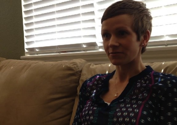 Pregnancy Cancer survivor Amy Hansen
