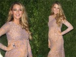 Pregnant Actress Blake Lively on the red carpet at the Golden Heart Awards