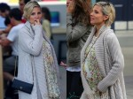 Pregnant Actress Elsa Pataky out in LA
