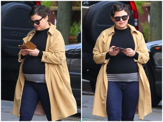 Pregnant Actress Ginnifer Goodwin out in LA
