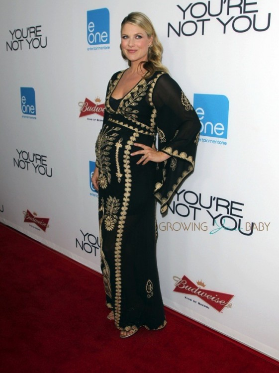 Pregnant Ali Larter at You are Not You Premiere