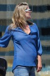 Pregnant Ali Larter out in LA