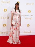 Pregnant Amanda Peet at the  66th Annual Primetime Emmy Awards