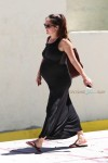 Pregnant Ashley Hebert out in Miami