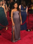 Pregnant Atcress Kerry Washington at the 86th Academy Awards