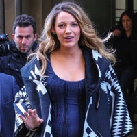 Blake Lively Steps Out In New York City
