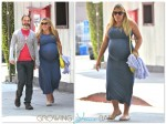 Pregnant Busy Philipps and Mark Silverstein