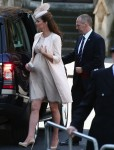 Pregnant Catherine Middleton at 60th Anniversary of the Coronation Service