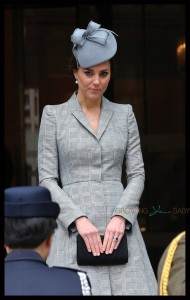 Pregnant Catherine Middleton at Singapore State Visit to Britain of President Tony Tan Keng Yam