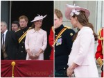 Pregnant Catherine Middleton at Trooping of the Color 2013