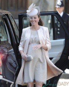Pregnant Kate Middleton Heads To Westminster Abbey