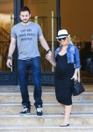 Pregnant Christina Aguilera out with fiance Matt Rutler