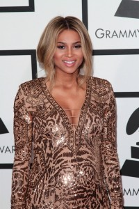 Pregnant Ciara Grammy Awards 2014