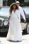 Pregnant Ciara attends Kim Kardashian's bridal shower