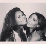 Pregnant Ciara with Kim Kardashian at her shower
