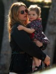 Pregnant Drew Barrymore, Olive Kopelman out for lunch LA