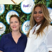Drew Barrymore & Ciara Compare Bellies At Safe Kids Day in Los Angeles