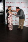 Pregnant Drew Barrymore and adam Sandler on the redcarpet at CinemaCon 2014