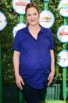 Pregnant Drew Barrymore at Safe Kids Day in Los Angeles