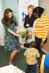 Pregnant Duchess of Cambridge, At A Coffee Morning In Kensington