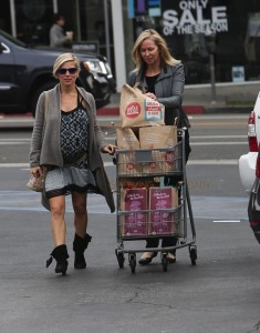 Pregnant Elsa Pataky out in LA