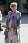 Pregnant Elsa Pataky out shopping in Malibu