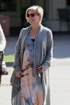 Pregnant Elsa Pataky out shopping in Malibu