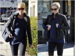 Pregnant Emily Blunt runs errands in LA