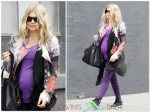 Pregnant Fergie steps out in LA