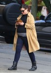 Pregnant Ginnifer Goodwin out in LA