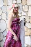 Pregnant Gwen Stefani Attends a baby shower