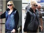 Pregnant Gwen Stefani at the doctors LA