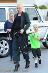 Pregnant Gwen Stefani grabs some ice cream with her son  Zuma
