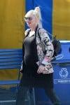 Pregnant Gwen Stefani leaving Cirque Du Soleil