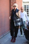 Pregnant Gwen Stefani out in LA 2