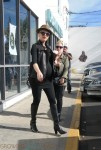 Pregnant Gwen Stefani out shopping in LA