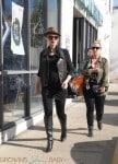 Pregnant Gwen Stefani out shopping in LA