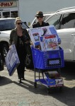 Pregnant Gwen Stefani shops for toys in LA