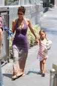 Halle Berry: Mother's Day Lunch With Daughter Nahla Aubrey & Fiance Olivier Martinez