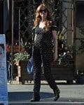 Pregnant Isla Fisher out in LA
