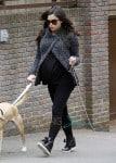 Jenna Dewan Tatum Takes Her Dogs For A Walk