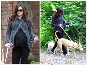 Pregnant Jenna Dewan Tatum out for a walk in London