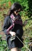 Jenna Dewan Tatum Seen Walking Her Dogs In Hyde Park