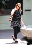Pregnant Jenna Fischer out in LA