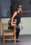 Pregnant Jenna Fischer steps out in LA
