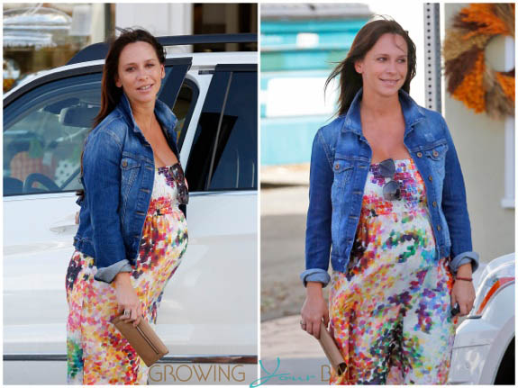 Pregnant Jennifer Love Hewitt out in Santa Monica