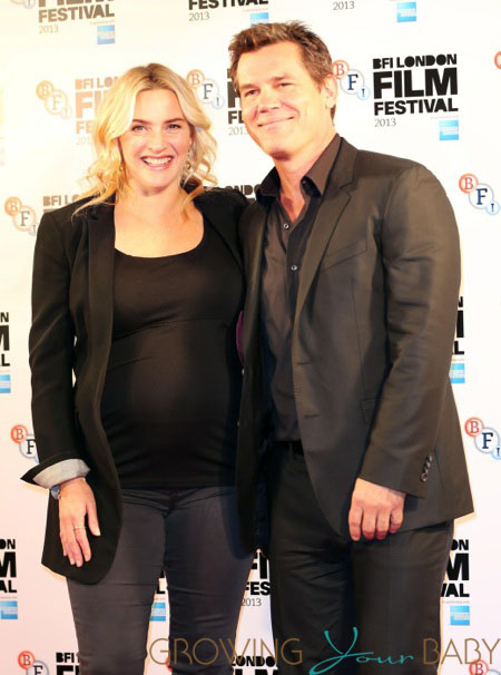 Pregnant Kate Winslet, Josh Brolin at 'Labour' premiere