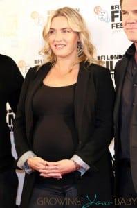 Pregnant Kate Winslet at 'Labour' premiere