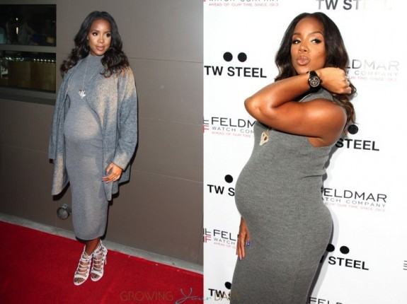 Pregnant Kelly Rowland launches her watch line